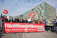 16-03-14 Protest gegen AfD Pressekonferenz