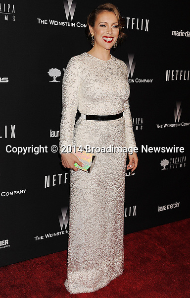 Pictured: Alyssa Milano<br /> Mandatory Credit &copy; Joseph Gotfriedy/Broadimage<br /> The Weinstein Company &amp; Netflix 2014 Golden Globes After Party - Arrivals<br /> <br /> 1/12/14, Beverly Hills, California, United States of America<br /> <br /> Broadimage Newswire<br /> Los Angeles 1+  (310) 301-1027<br /> New York      1+  (646) 827-9134<br /> sales@broadimage.com<br /> http://www.broadimage.com