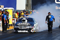 Jul. 26, 2013; Sonoma, CA, USA: NHRA pro stock driver Vincent Nobile during qualifying for the Sonoma Nationals at Sonoma Raceway. Mandatory Credit: Mark J. Rebilas-
