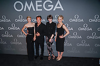 New York, NY - June 10 : (L-R) Jaime King, Patrick Wilson, Coco Rocha, and Taylor Schilling attend the OMEGA Speedmaster Dark Side<br /> of the Moon Launch Event held at Cedar Lake on June 10, 2014 in<br /> New York City. Photo by Brent N. Clarke / Starlitepics