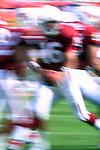 Arizona Cardinals quarterback Jake Plummer (16) fakes the handoff.  The Crdinals beat the Chiefs at Sun Devil Stadium 24 -16.<br /> &copy;Gene Lower/ NFLP Photos