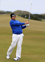Merrick Bremner (RSA) on the 15th fairway during Round 4 of the 2015 Alfred Dunhill Links Championship at the Old Course in St. Andrews in Scotland on 4/10/15.<br /> Picture: Thos Caffrey | Golffile
