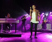 BOCA RATON - SEPTEMBER 18:  Nate Ruess of Fun performs at the Mizner Park Amphitheatre on September 18, 2013 in West Palm Beach, Florida.(Photo By Larry Marano (C) 2013