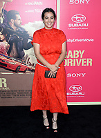 Alanna Masterson at the Los Angeles premiere for &quot;Baby Driver&quot; at the Ace Hotel Downtown. <br /> Los Angeles, USA 14 June  2017<br /> Picture: Paul Smith/Featureflash/SilverHub 0208 004 5359 sales@silverhubmedia.com