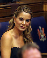 Pictured: Charlotte Jackson Thursday 20 October 2016<br /> Re: Wales manager Chris Coleman has been given the freedom of his hometown of Swansea.<br /> Coleman, 46, guided Wales to the semi-final of Euro 2016 - the side's first major tournament in 58 years.<br /> He got the honour at a ceremony at the city's Guildhall on Thursday.<br /> Lord Mayor David Hopkins said: &quot;Chris is a proud Swansea boy and a terrific ambassador for the city, so he's thoroughly deserving of being offered the highest honour we can confer.&quot;<br /> Other people to be given the freedom of the city include Prince Charles and President Jimmy Carter, as well as footballers John Charles and Mel Nurse.<br /> Following the ceremony, a celebration will be held at Brangwyn Hall, which includes a performance by James Dean Bradfield of the Manic Street Preachers.