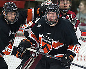 Alec Rush (Princeton - 2), Kyle Rankin (Princeton - 19), Brian Hart (Harvard - 39) - The Harvard University Crimson defeated the Princeton University Tigers 3-2 on Friday, January 31, 2014, at the Bright-Landry Hockey Center in Cambridge, Massachusetts.