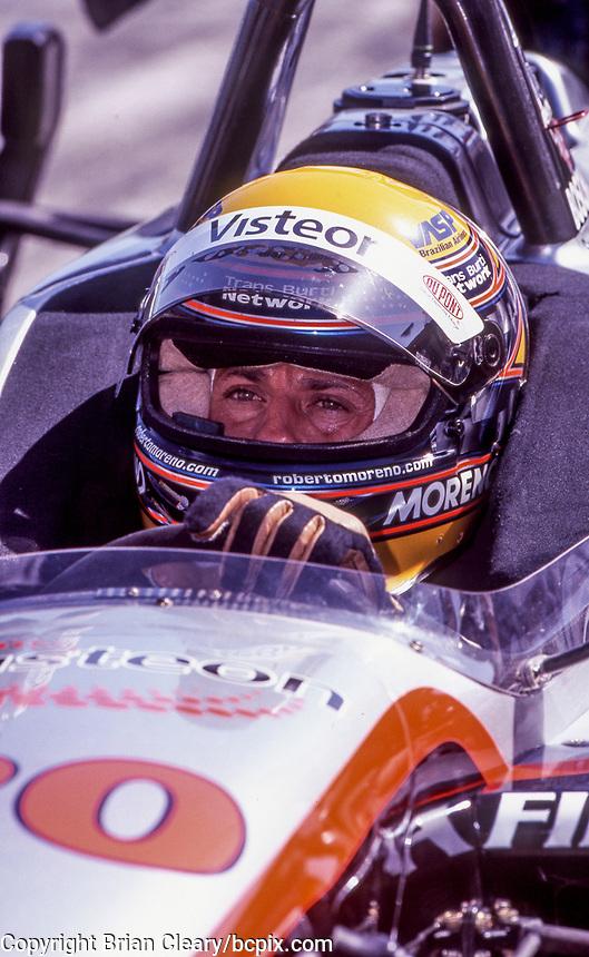 Roberto Moreno, Marlboro Grand Prix of Miami, CART race, March 26, 2000.  (Photo by Brian Cleary/bcpix.com)