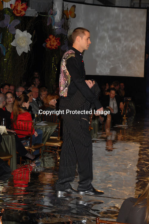 """John Driscoll of Guiding Light modeling..at The Design Cares """"An Evening of Enchantment""""Fashion ..Event benefitting St Jude Children's Research Hospital ..on February 7, 2007 at The Puck Building in New York. ..Robin Platzer, Twin Images.."""