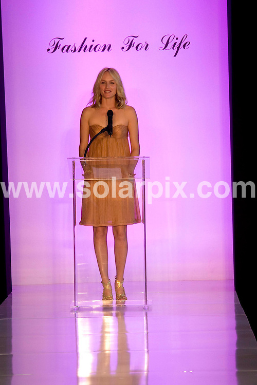 **ALL ROUND PICTURES FROM SOLARPIX.COM**.**SYNDICATION RIGHTS FOR UK, SPAIN, PORTUGAL, AUSTRALIA, S.AFRICA & DUBAI (U.A.E) ONLY**.Fashion For Life 2008 Celebrating Hearts & Hope with Style held at Mercedes-Benz of Beverly Hills, Beverly Hills, CA, USA. 18th May 2008..This pic: Amber Valletta..JOB REF: 6454 PHZ    DATE: 18_05_2008.**MUST CREDIT SOLARPIX.COM OR DOUBLE FEE WILL BE CHARGED* *UNDER NO CIRCUMSTANCES IS THIS IMAGE TO BE REPRODUCED FOR ANY ONLINE EDITION WITHOUT PRIOR PERMISSION*