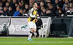 Nederland, Rotterdam, 31 maart 2012.Eredivisie.Seizoen 2011-2012.Feyenoord-NAC Breda.Omer Bayram van NAC Breda juicht nadat hij de 1-1 heeft gescoord