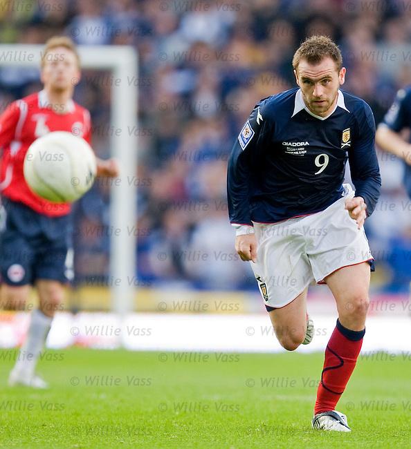 James McFadden, Scotland