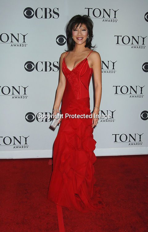 Julie Chen..arriving at the 60th Annual Tony Awards on June11, 2006..at Radio City Music Hall. ..Robin Platzer, Twin Images