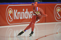 SCHAATSEN: HEERENVEEN: 27-12-2013, IJsstadion Thialf, KNSB Kwalificatie Toernooi (KKT), 3000m, Jorien Voorhuis, ©foto Martin de Jong