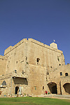 Israel, the Citadel of Acco (Acre) was built on the ruins of the Crusaders fortress