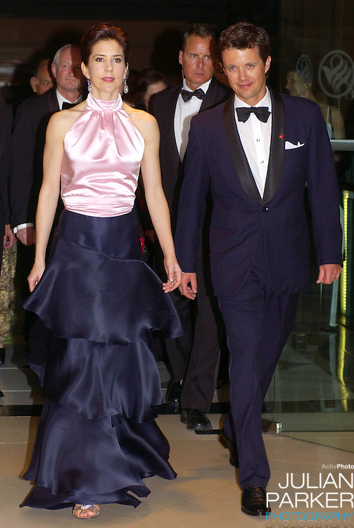 Crown Prince Frederik & Crown Princess Mary of Denmark attend a Red Cross 90th Anniversary Gala Event at the Westin Hotel in Sydney, during their 2-week visit to Australia..