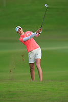 Nelly Korda (USA) in action on the 2nd during Round 2 of the HSBC Womens Champions 2018 at Sentosa Golf Club on the Friday 2nd March 2018.<br /> Picture:  Thos Caffrey / www.golffile.ie<br /> <br /> All photo usage must carry mandatory copyright credit (&copy; Golffile | Thos Caffrey)