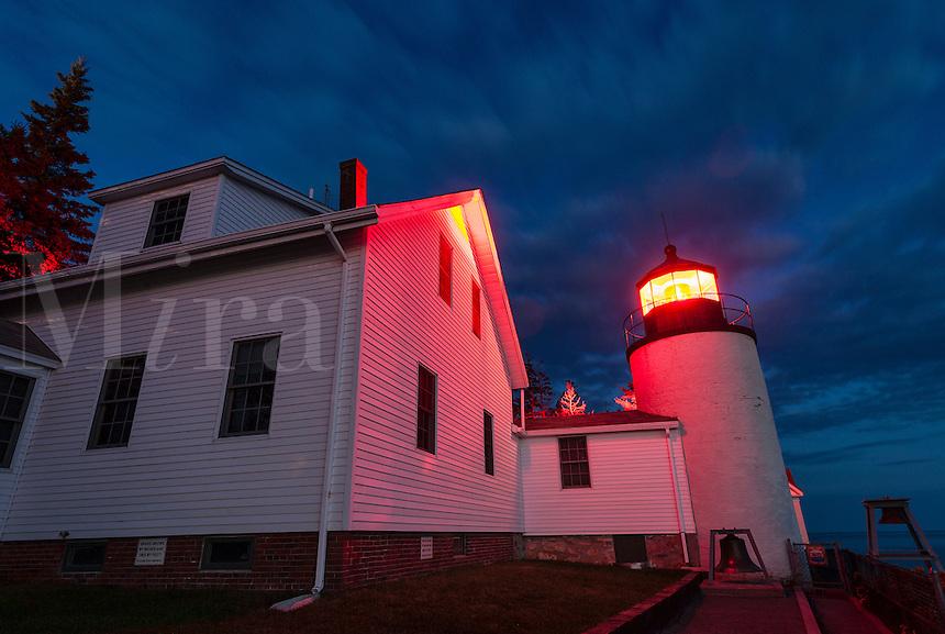 Bass Harbor Light, Bass Harbor, Acadia National Park, Maine, USA