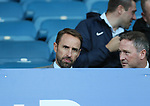 England manager Gareth Southgate takes his seat to watch the game during the Europa League Qualifying Play Offs 1st Leg match at Goodison Park Stadium, Liverpool. Picture date: August 17th 2017. Picture credit should read: David Klein/Sportimage