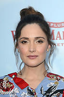 LOS ANGELES, CA - FEBRUARY 03: Rose Byrne at the premiere of Columbia Pictures' 'Peter Rabbit' at The Grove on February 3, 2018 in Los Angeles, California. <br /> CAP/MPI/DE<br /> &copy;DE//MPI/Capital Pictures