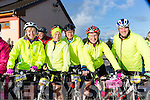 Bridget O'Connor, Mary and James Fenly, Helen Sweeney and  Billy Sullivan at the Pieta House cycle in Rathmore on Sunday