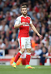 Arsenal's Shkodran Mustafi in action during the Premier League match at the Emirates Stadium, London. Picture date September 24th, 2016 Pic David Klein/Sportimage