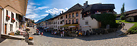 Main street from La Gruyère