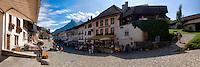 Main street from La Gruyère