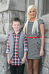 Killian Brodigan with his sponsor Rhona at the Confirmation in St.Mary's Church...Photo NEWSFILE/Jenny Matthews.(Photo credit should read Jenny Matthews/NEWSFILE)....This Picture has been sent you under the condtions enclosed by:.Newsfile Ltd..The Studio,.Millmount Abbey,.Drogheda,.Co Meath..Ireland..Tel: +353(0)41-9871240.Fax: +353(0)41-9871260.GSM: +353(0)86-2500958.email: pictures@newsfile.ie.www.newsfile.ie.FTP: 193.120.102.198.