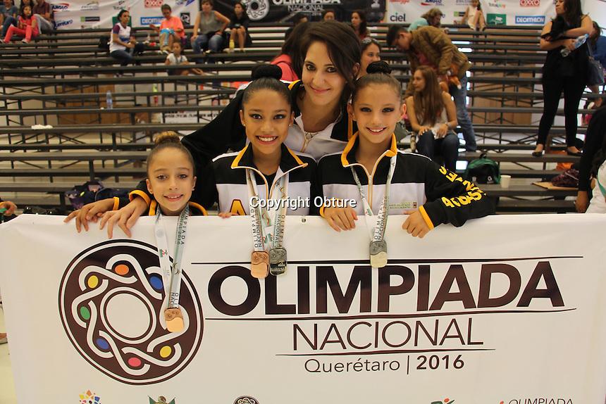 Querétaro, Querétaro. 20 de julio de 2016. - aspectos de la Olimpiada Nacional que se celebra en la entidad donde participan cientos de atletas del país
