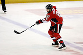 February 22nd 2008:  Matt Kinch (2) of the Binghamton Senators takes a shot during a game vs. the Rochester Amerks at Blue Cross Arena at the War Memorial in Rochester, NY.  The Senators defeated the Amerks 4-0.   Photo copyright Mike Janes Photography