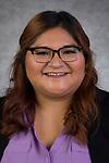 Jessica Bandera, Student Records Assistant, University Registrar, Enrollment Management and Marketing, DePaul University, is pictured Feb. 19, 2019. (DePaul University/Jeff Carrion)