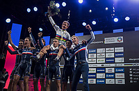 Benoit Cosnefroy (FRA/AG2R-La Mondiale) is the new U23 World Champion<br /> <br /> Men Under-23 Road Race<br /> <br /> UCI 2017 Road World Championships - Bergen/Norway