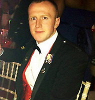 Pictured: Darren Neilson, image taken from open social media page.<br /> Re: An inquiry into the deaths of two soldiers and the serious injury of two others at a Ministry of Defence base in Pembrokeshire is continuing.<br /> The Royal Tank Regiment soldiers died after the incident at Castlemartin Range on Wednesday.<br /> They have been named by their commanding officer as Corporals Matthew Hatfield and Darren Neilson.<br /> The MoD, Dyfed-Powys Police and Health and Safety Executive are investigating.<br /> The incident is understood to have involved a tank shell exploding within a Challenger 2 battle tank. The MoD has suspended tank live firing exercises by British military as a precaution.<br /> The second death, at University Hospital of Wales, Cardiff, was announced on Thursday night by Minister for Defence, People and Veterans, Tobias Ellwood.<br /> It followed an earlier announcement of the first death at Morriston Hospital on Thursday morning.
