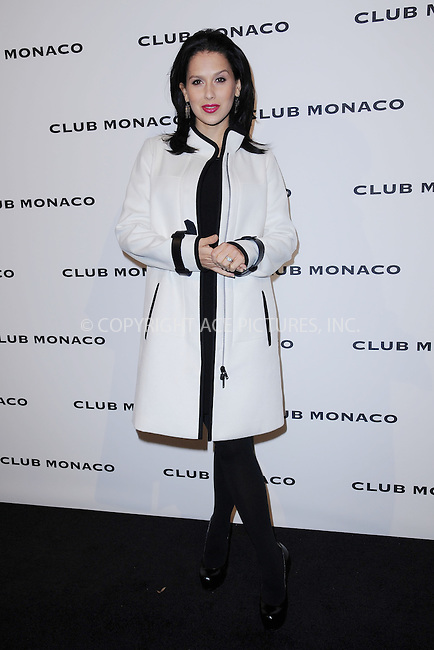 WWW.ACEPIXS.COM <br /> November 7, 2013 New York City<br /> <br /> Hilaria Baldwin attends the opening celebration of Club Monoco's Fifth Avenue Flagship Store on November 7, 2013 in New York City.<br /> <br /> Please byline: Kristin Callahan  <br /> <br /> ACEPIXS.COM<br /> Ace Pictures, Inc<br /> tel: (212) 243 8787 or (646) 769 0430<br /> e-mail: info@acepixs.com<br /> web: http://www.acepixs.com