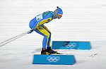 Andrii Orlyk (UKR). Mens sprint classic qualification. Cross country skiing. Alpensia Croos-Country skiing centre. Pyeongchang2018 winter Olympics. Alpensia. Republic of Korea. 13/02/2018. ~ MANDATORY CREDIT Garry Bowden/SIPPA - NO UNAUTHORISED USE - +44 7837 394578