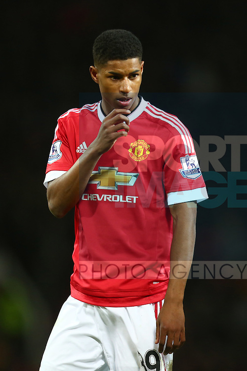 Marcus Rashford of Manchester United - Barclay's Premier League - Manchester United vs Watford - Old Trafford - Manchester - 02/03/2016 Pic Philip Oldham/SportImage