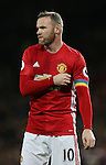 Wayne Rooney of Manchester United during the Premier League match at the Old Trafford Stadium, Manchester. Picture date: November 27th, 2016. Pic Simon Bellis/Sportimage