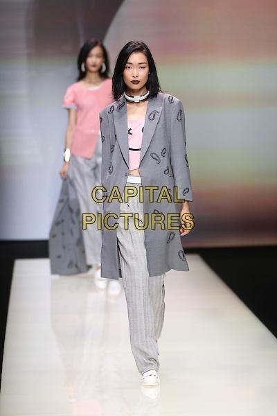 EMPORIO ARMANI<br /> Milan Fashion Week, Ready to Wear,Spring Summer 2016, Milan, Italy September 25, 2015.<br /> CAP/GOL<br /> &copy;GOL/Capital Pictures