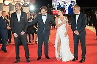 "Alberto Barbera, Fernando Leon de Aranoa, Penelope Cruz, Javier Bardem at the ""Loving Pablo"" premiere, 74th Venice Film Festival in Italy on 6 September 2017.<br /> <br /> Photo: Kristina Afanasyeva/Featureflash/SilverHub<br /> 0208 004 5359<br /> sales@silverhubmedia.com"