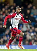 Daniel Sturridge of WBA during the Premier League match between Chelsea and West Bromwich Albion at Stamford Bridge, London, England on 12 February 2018. Photo by Andy Rowland.