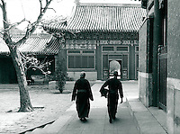 Tempel in Peking, China 1989