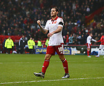 Sheffield United's Billy Sharp celebrates victory at full time - Sheffield United vs Coventry City - SkyBet League One - Bramall Lane - Sheffield - 13/12/2015 Pic Philip Oldham/SportImage