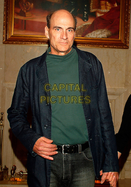 JAMES TAYLOR .Were among the guests at a gala held at the Le Royal Meridien King Edward Hotel prior to her induction into the Canadian Songwriters Hall of Fame, Toronto, Ontario, Canada, 27 January 2007..half length.CAP/ADM/BP.©Brent Perniac/AdMedia/Capital Pictures.