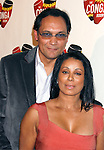 LOS ANGELES, CA. - December 10: Actors Jimmy Smits and Wanda De Jesus arrive at The Conga Room Grand Opening At L.A. LIVE on December 10, 2008 in Los Angeles, California