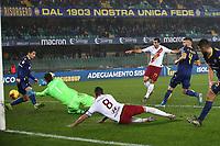 Henrikh Mkhitaryan of AS Roma scores the goal of 1-3 <br /> Verona 1-12-2019 Stadio Bentegodi <br /> Football Serie A 2019/2020 <br /> Hellas Verona - AS Roma <br /> Photo Gino Mancini / Insidefoto