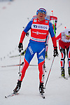HOLMENKOLLEN, OSLO, NORWAY - March 16: Alexander Legkov of Russia (RUS) wins the Men 50 km mass start, free technique, at the FIS Cross Country World Cup on March 16, 2013 in Oslo, Norway. (Photo by Dirk Markgraf)