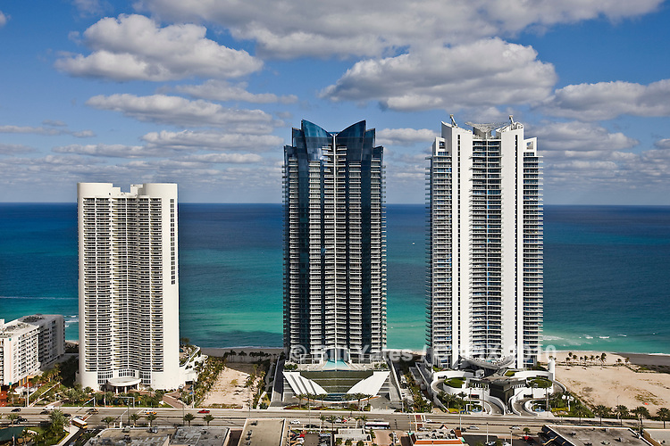 Turnberry Ocean Colony N Tower Collins Road Miami Beach Florida helicopter aerial