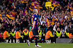 Andres Iniesta of FC Barcelona during the La Liga match between Barcelona and Real Sociedad at Camp Nou on May 20, 2018 in Barcelona, Spain. Photo by Vicens Gimenez / Power Sport Images