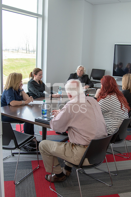 Kansas City, KS - Thursday, April 5, 2018: NDP, member meeting, during U.S. Soccer Member Meeting at the National Development Center in Kansas City, Kansas.