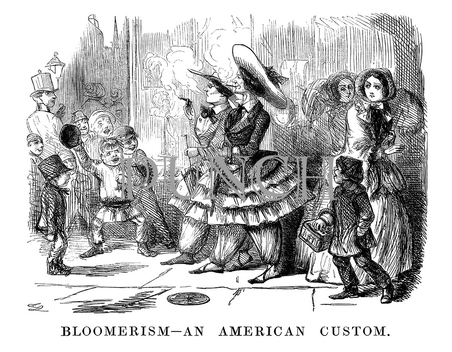 Bloomerism—An American Custom.